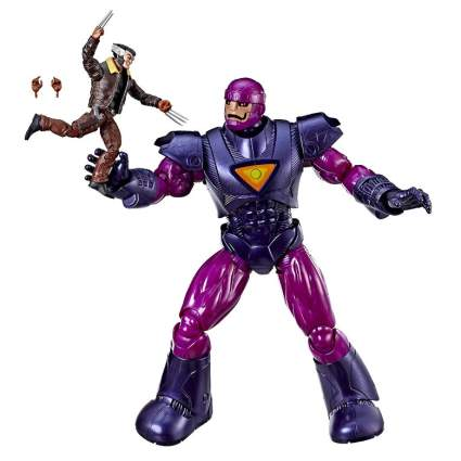 "Hasbro Marvel Legends Series X-Men Days of Future Past 16"" Electronic Sentinel and 6"" Wolverine Figure (Amazon Exclusive)"