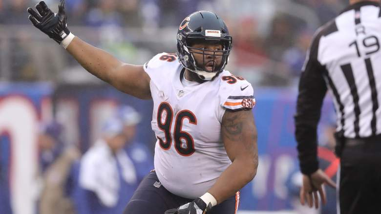 Chicago Bears Defensive End Akiem Hicks