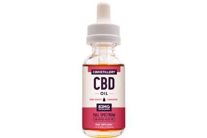 High potency CBD tincture