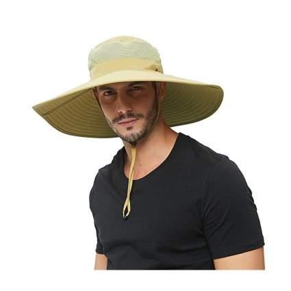 HLLMAN Super Wide Brim Sun Hat