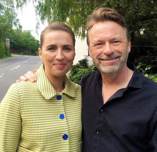Mette Frederiksen and Bo Tengberg