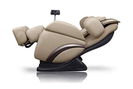 beige deep tissue massage recliner