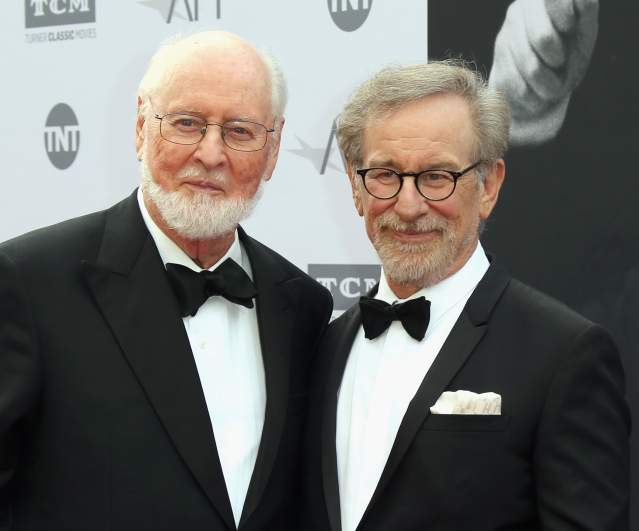 John Williams and Steven Spielberg Attend Event