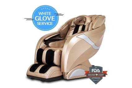 gold full body massage recliner
