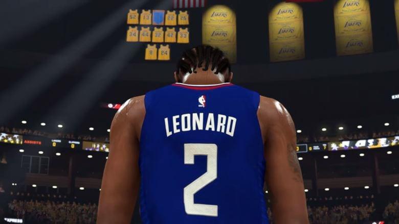 Kawhi Leonard NBA 2K20 Next Trailer