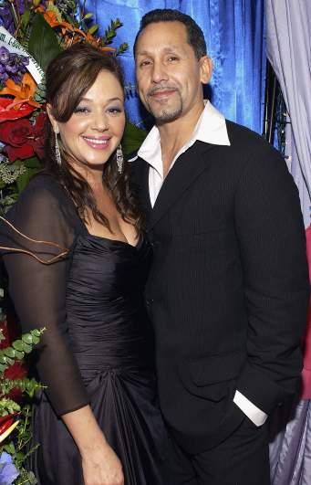 Leah Remini and her husband Angelo Pagan