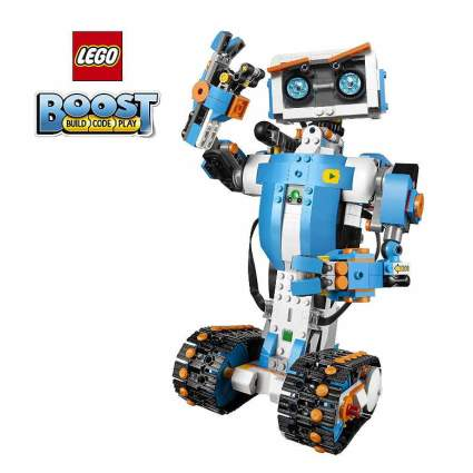 LEGO Boost Creative Toolbox 17101 Fun Robot Building Set and Educational Coding Kit for Kids