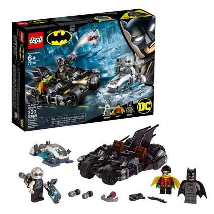 LEGO DC Batman Mr. Freeze Batcycle Battle