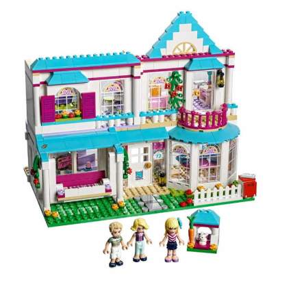 LEGO Friends Stephanie's House 41314 Build and Play Toy House with Mini Dolls, Dollhouse Kit