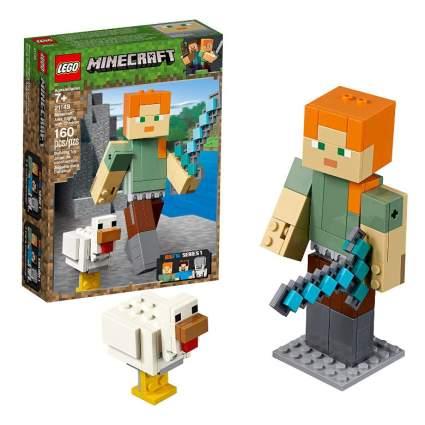 LEGO Minecraft Alex BigFig with Chicken Building Kit