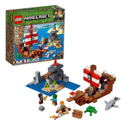 LEGO Minecraft The Pirate Ship Adventure 21152 Building Kit