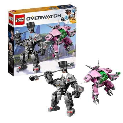 LEGO Overwatch D.Va and Reinhardt Building Kit