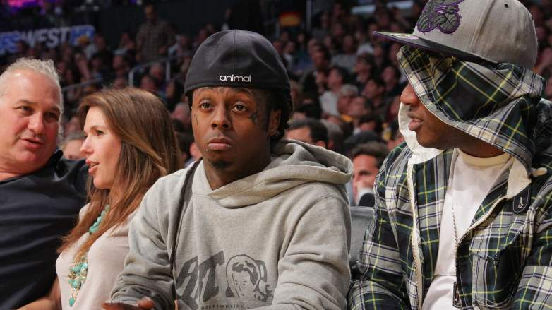 Lil Wayne Lakers