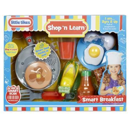 Breakfast food play set