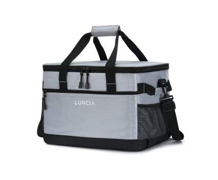 LUNCIA 33 Liter Leakproof Collapsible Cooler Bag