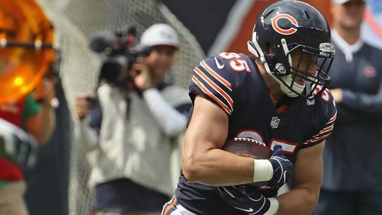 Chicago Bears Running Back Ryan Nall.