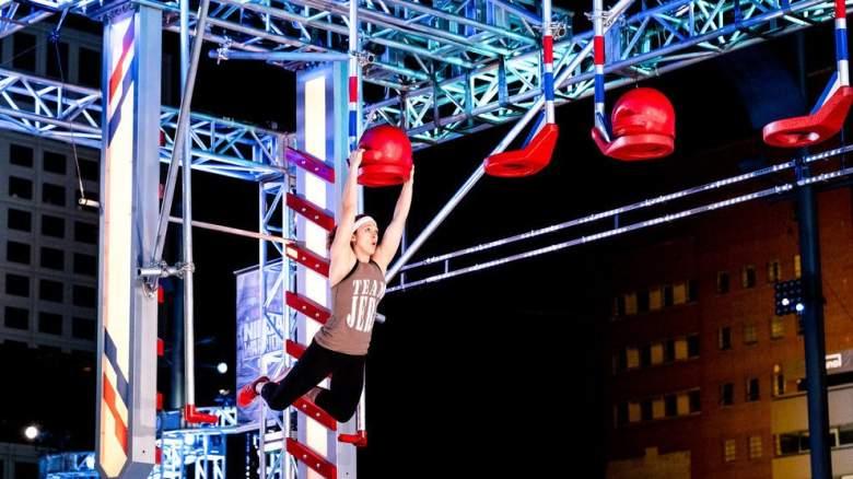 American Ninja Warrior Slam Dunk Obstacle