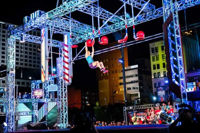 American Ninja Warrior slam dunk