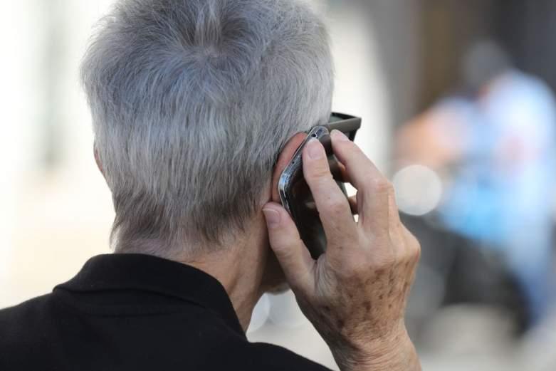 Grandparent on Phone