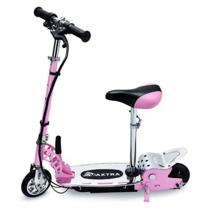 Overwhelming Upgrade E120 Adjustable Handlebar Height and Seat Folding Electric Scooter
