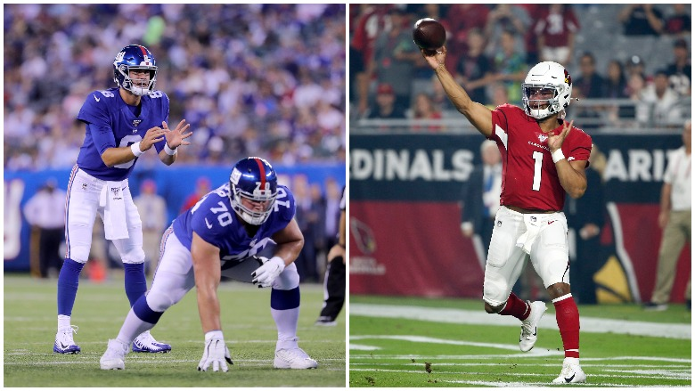 First-round draft picks Daniel Jones and Kyler Murray had impressive NFL Preseason debuts on Thursday night.