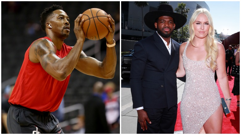 Dwight Howard is expected to sign with the Lakers and Lindsey Vonn and P.K. Subban announce they are engaged.