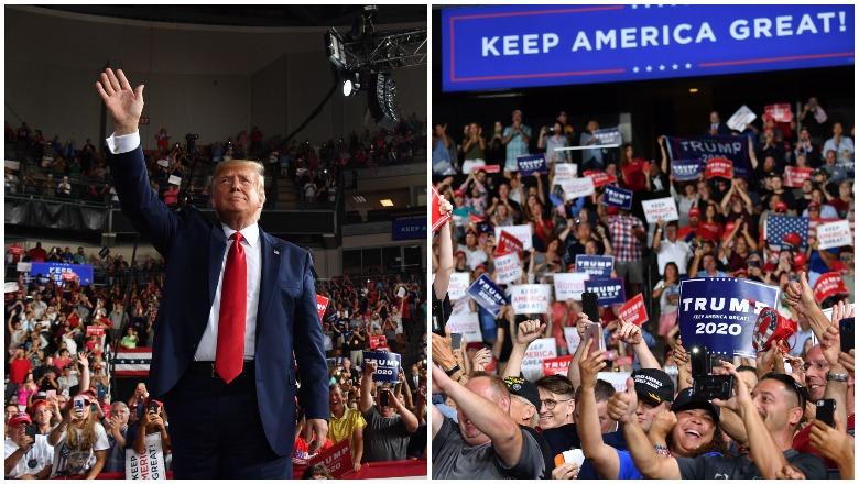 Trump New Hampshire Rally