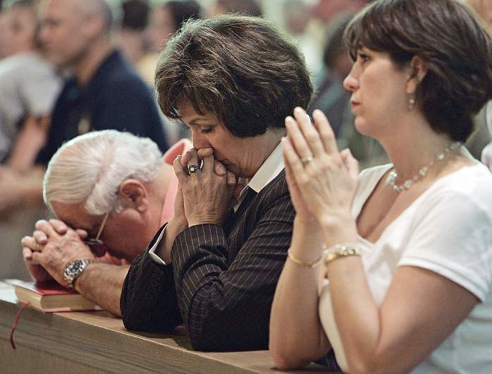Louisiana Governor Kathleen Blanco and Family Grieving