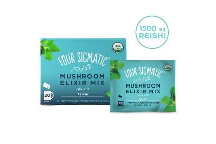 Reishi mushroom teas