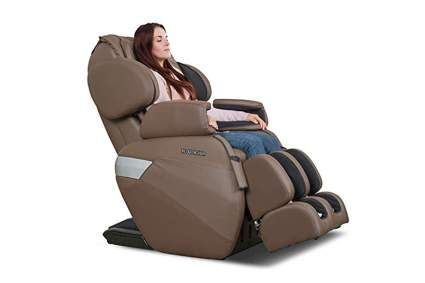 tan shiatsu massage chair