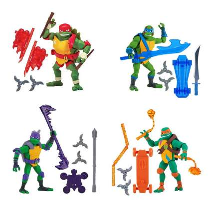 Rise of the Teenage Mutant Ninja Turtles Basic Action Figure Four Pack