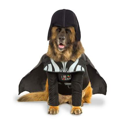 Rubie's darth vader dog costume