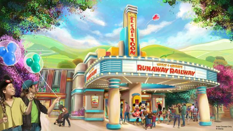 Proposed Look For Runaway Railway Attraction