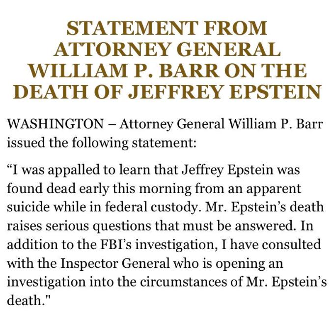 Epstein autopsy report