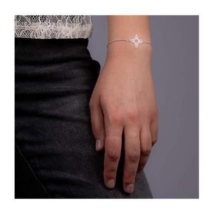 silver native american enchantment bracelet