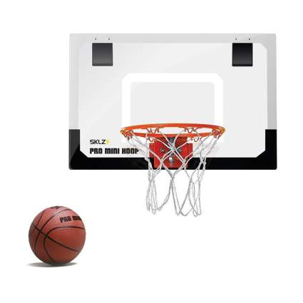 SKLZ Pro Mini Basketball Hoop with Ball office gadgets