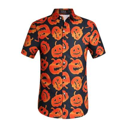 sslr pumpkin halloween shirt