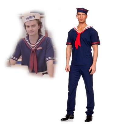 steve stranger things pop culture halloween costume