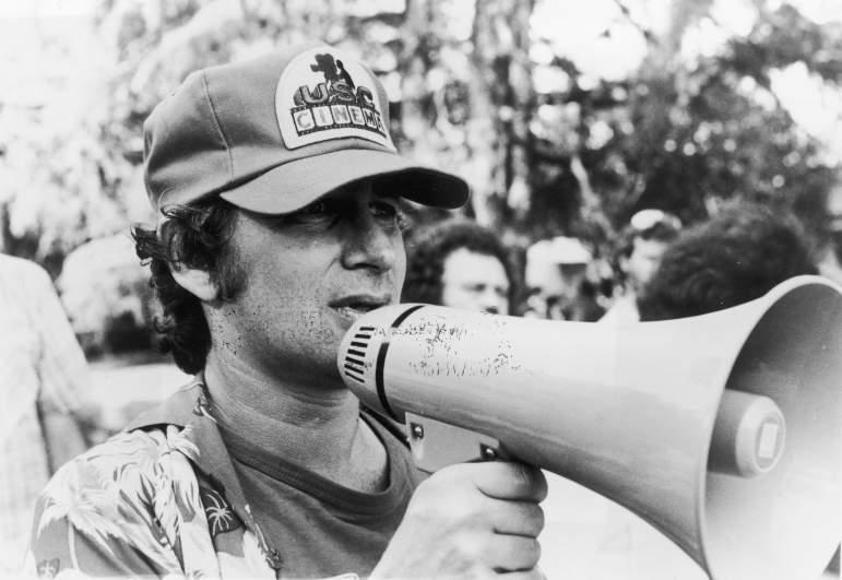 Steven Spielberg Directs Scene