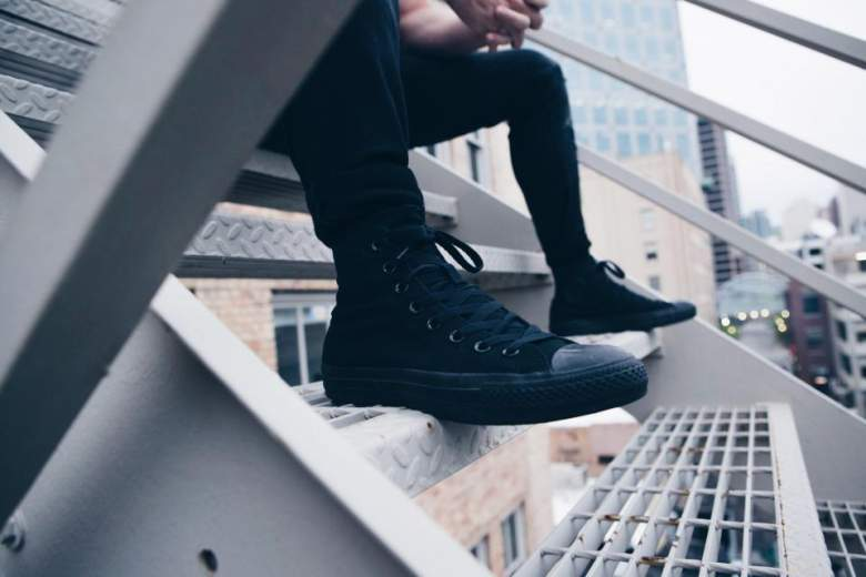 best black sneakers