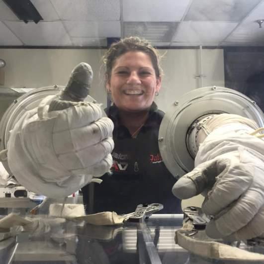 summer worden mcclain astronaut nasa