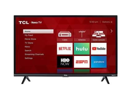 TCL 32S327 32-Inch 1080p Roku Smart LED TV best dorm room tvs