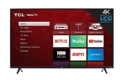 TCL 43S425 43 Inch 4K Ultra HD Smart Roku LED TV best dorm room tvs