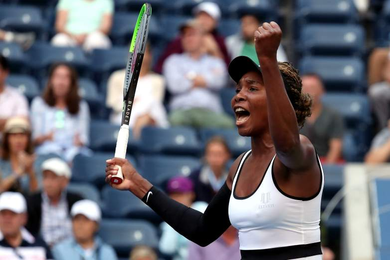 Venus Williams takes on the No. 5 seed Elina Svitolina from Ukraine on Wednesday afternoon.