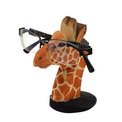 Giraffe eyeglasses holder