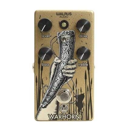 Walrus Audio warhorn tube screamer clone