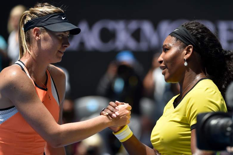 Serena Williams and Maria Sharapova will do battle in prime time on night one of the U.S. Open.