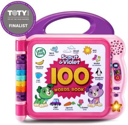 100 word book toddler stocking stuffers