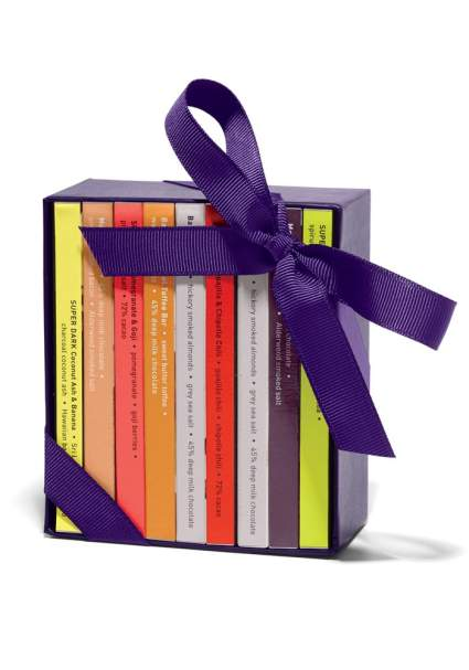 Vosges Haut-Chocolat A Library of Mini Exotic Chocolate Bars