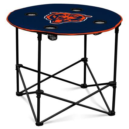 NFL Collapsible Round Table